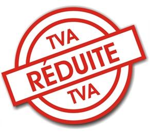 Taux de TVA réduit