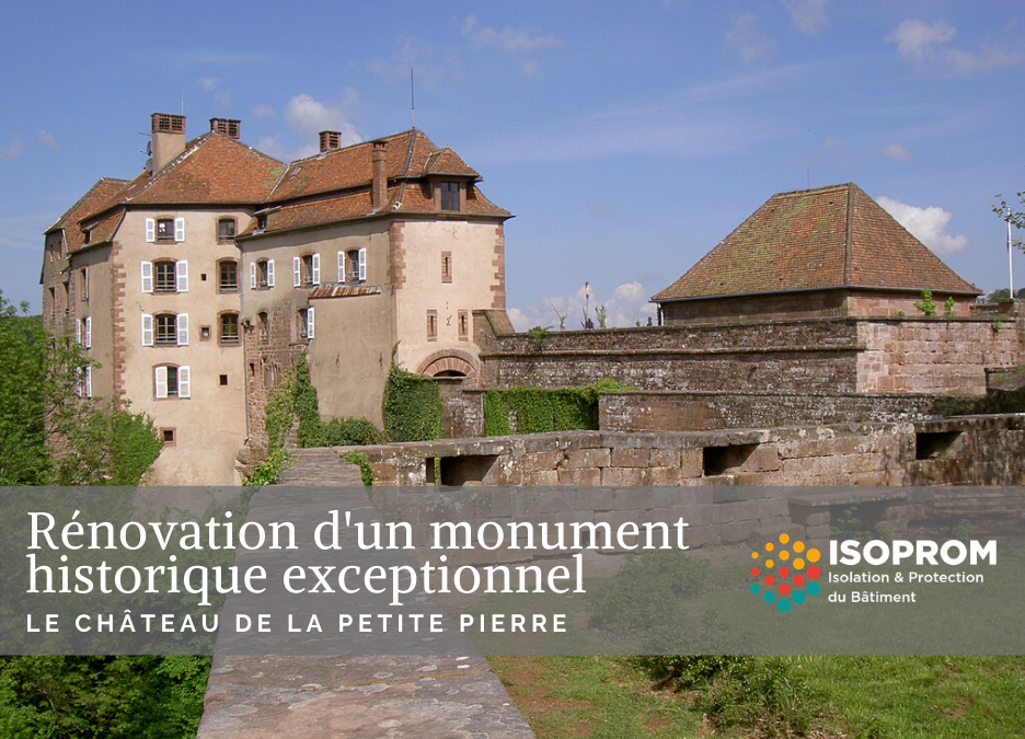 Rénovation du château de La Petite-Pierre