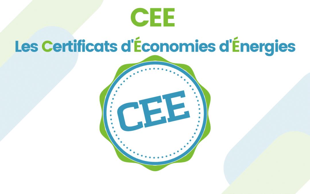 Certificat d'économie d'énergie – CEE